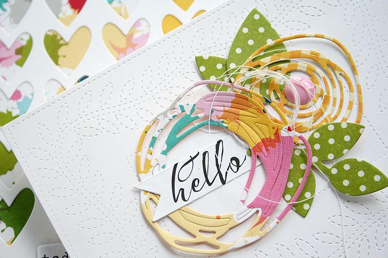 DanielleFlanders_Hello card - detail1