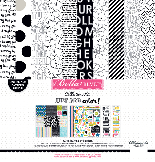 1042 JUST ADD COLOR COLLECTION KIT