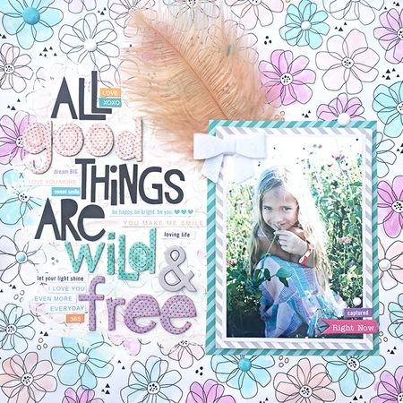 Wild and Free by Heather Leopard