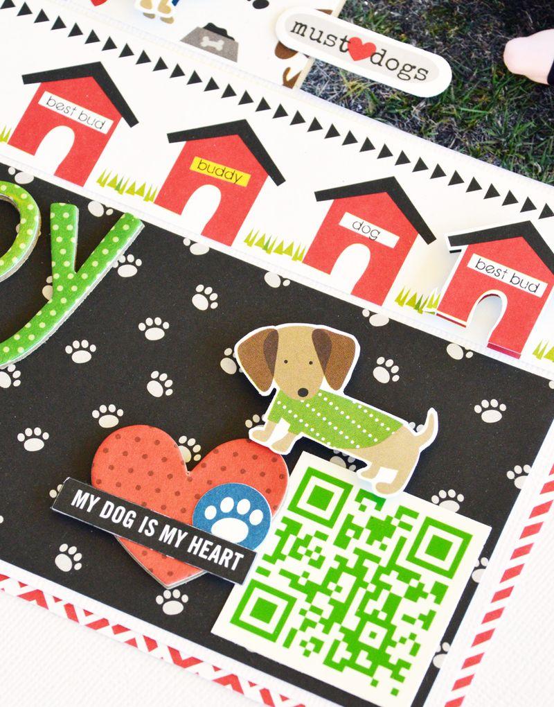 Bella BLVD_Leanne Allinson_Rover LO_Puppy Love_detail 2