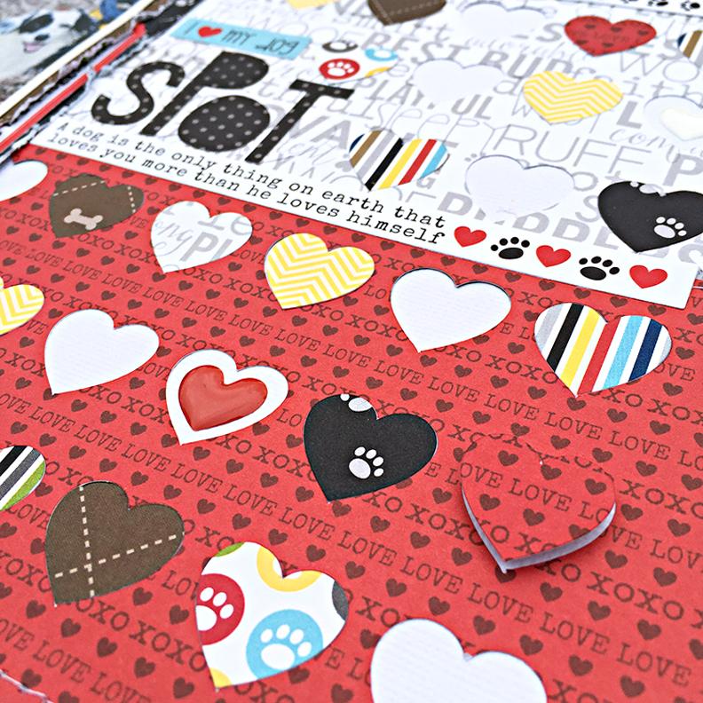 Spot Hearts by Heather Leopard