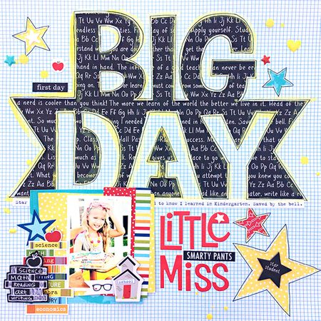 Little Miss Smarty Pants by Heather Leopard BB