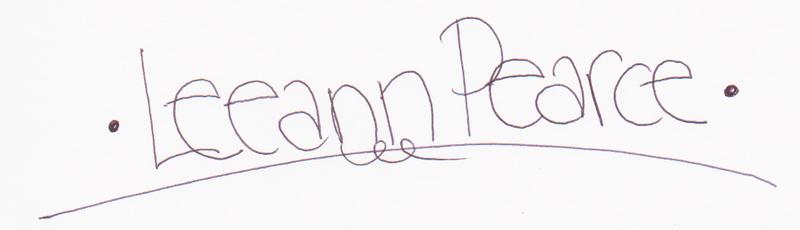 Leeann pearce sign