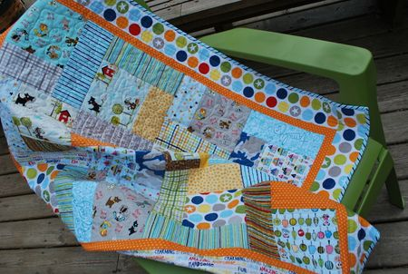 Photo 5 KFrye baby boy quilt