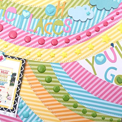 Bb oh the places youll go enamels by Heather Leopard