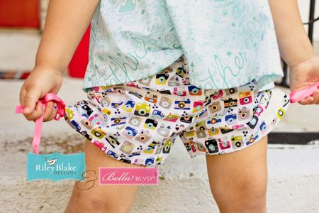 Jen Chesnick- Bella Blvd- Too Cute Shorts and Fly Girl Top5