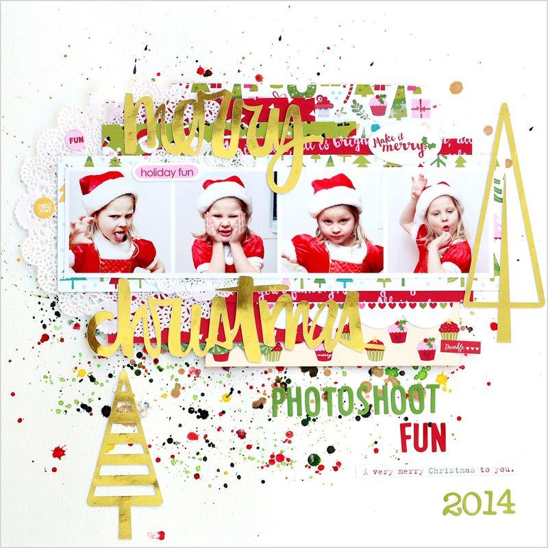 Christin Gronnslett Merry Christmas 01