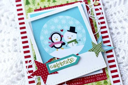 Julia Akinina- Winter friends Christmas card_details1