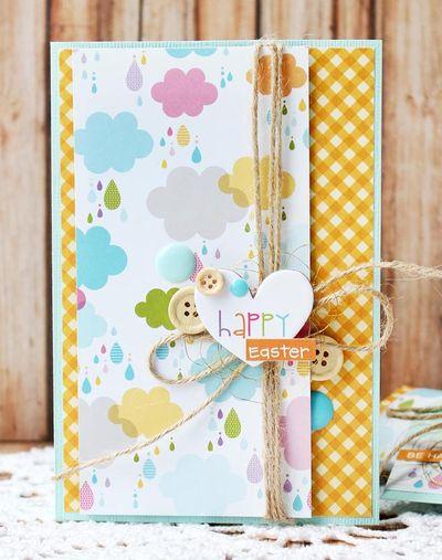 Julia Akinina_Happy Easter Card