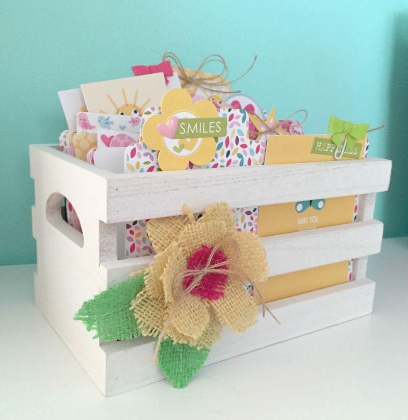 Card Crate - Kristine Davidson