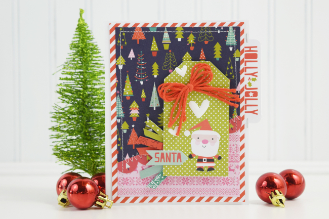 Becki Adams_Santa Christmas Card