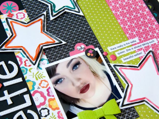 Tegan Skwiat Bright and Brave close up