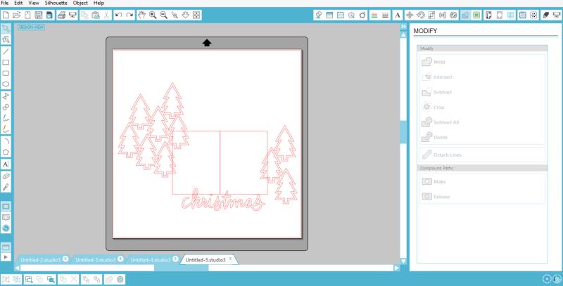 Becki Adams_Grammy's Christmas Tree_Sketch_1