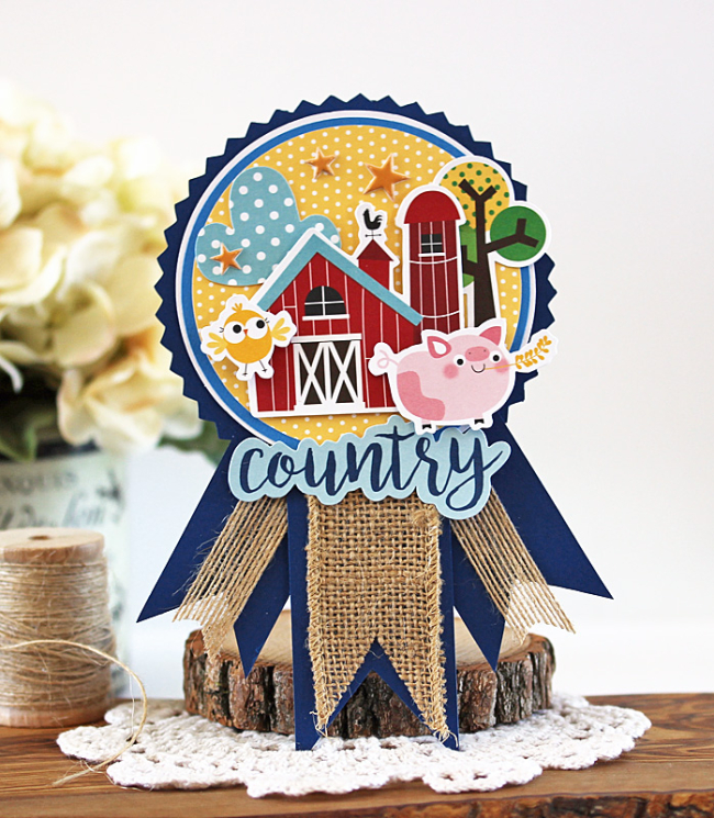 Country Fair Ribbon by Laurie Schmidlin