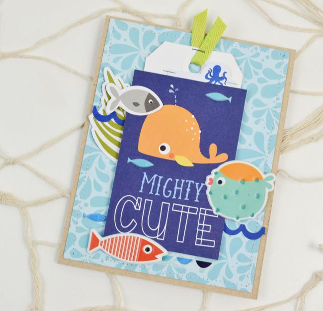 Becki Adams_Mighty Cute Card