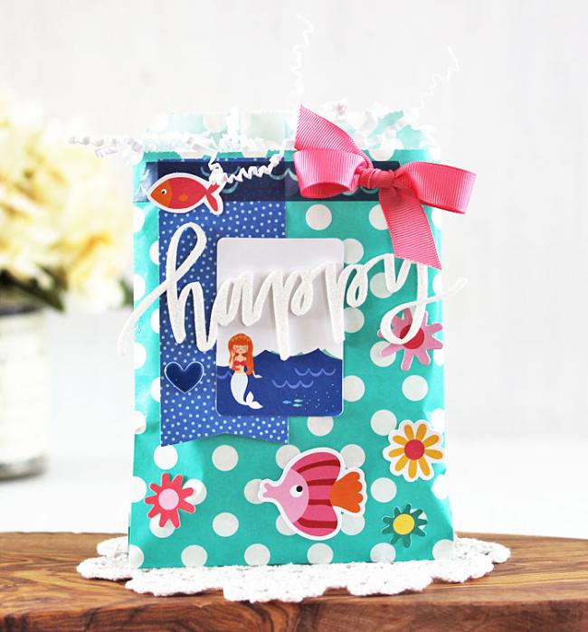 Happy Gift Bag by Laurie Schmidlin