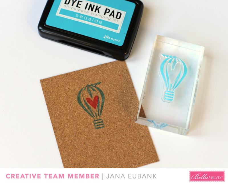 Jana Eubank Bella Blvd Stamping Steps 1