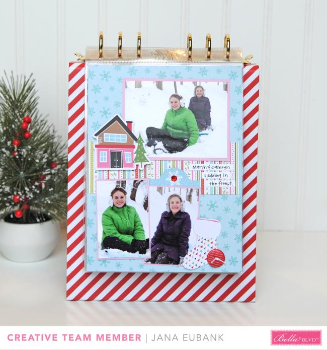 Jana Eubank Bella Blvd Santa Stops Here Album 20 bb