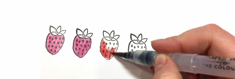 Lydia_Summer Strawberries_Watercolor