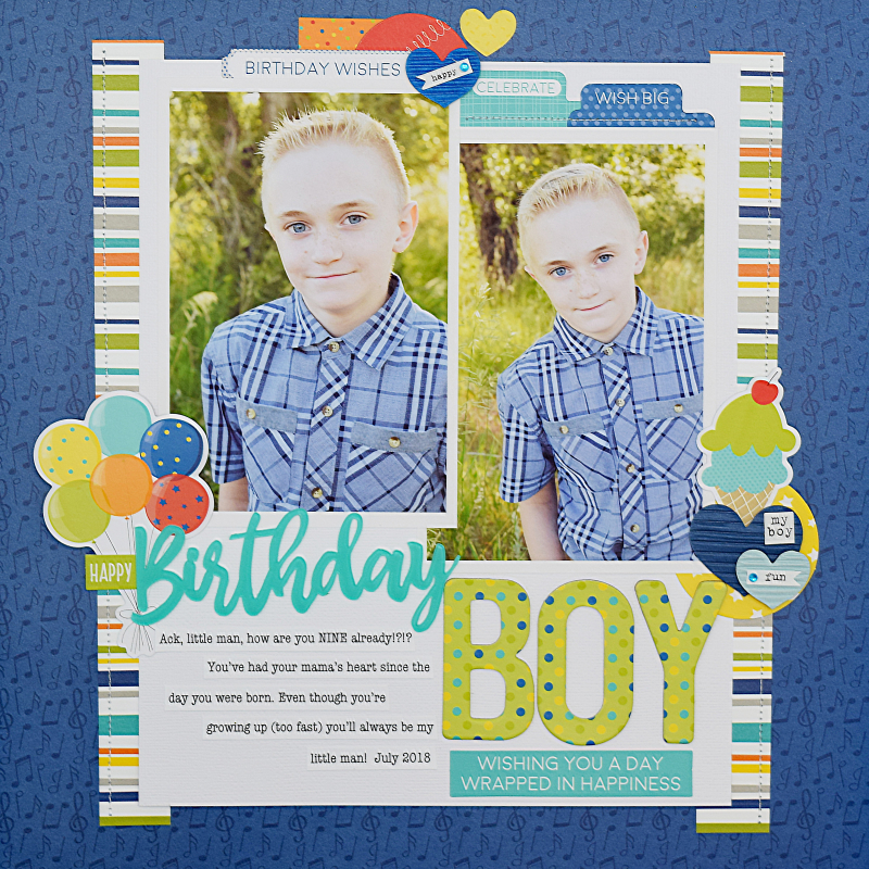 Becki Adams_Birthday Boy