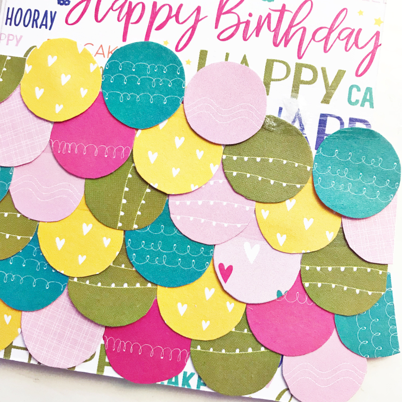 Birthday Wish card by Heather Leopard 4