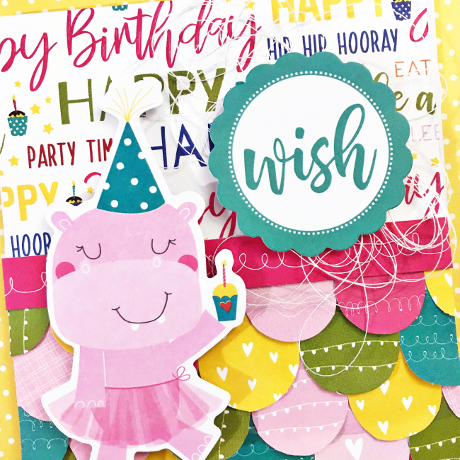 Birthday Wish card by Heather Leopard 6