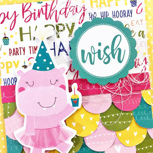 Birthday Wish card by Heather Leopard 6