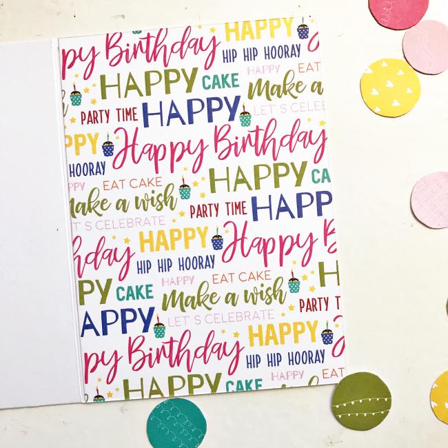 Birthday Wish card by Heather Leopard 3