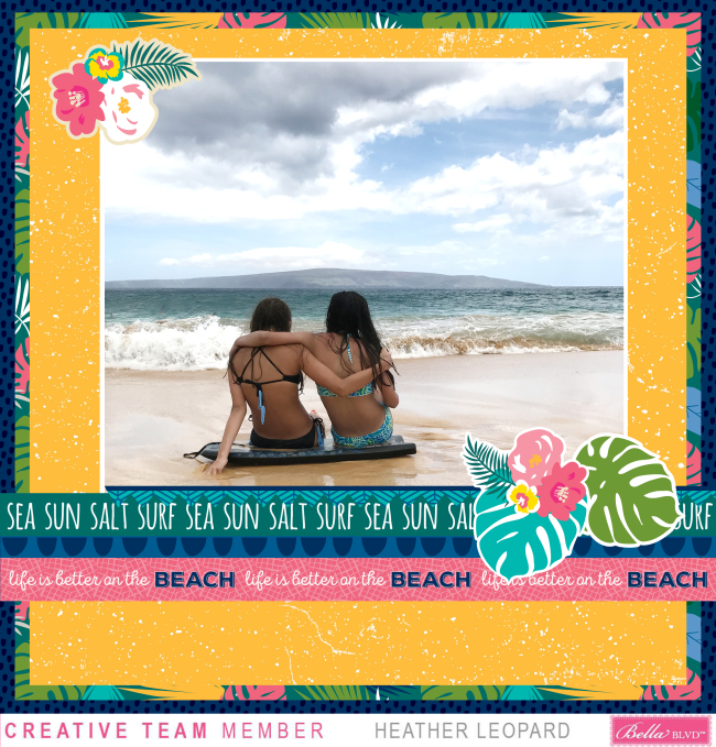 Besties Maui Time Flower Clusters HL