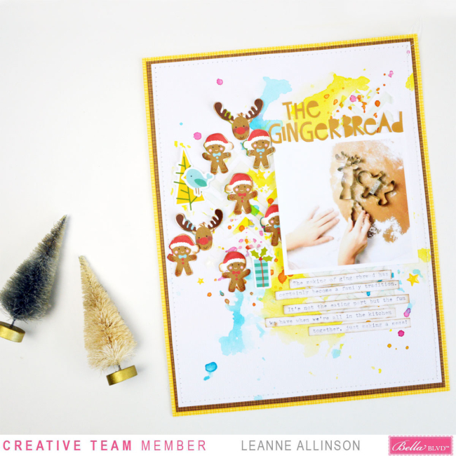 Bella Blvd_Leanne Allinson_Mixed Media_Santa Squad_The Gingerbread_02