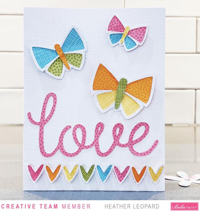 Bella Blvd Love Card1 by Heather Leopard