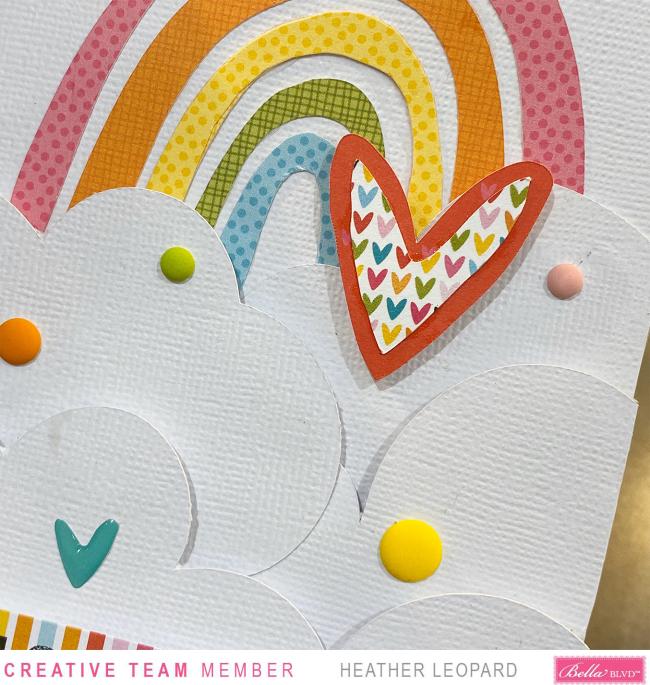 Bella Blvd Rainbow Card2 by Heather Leopard