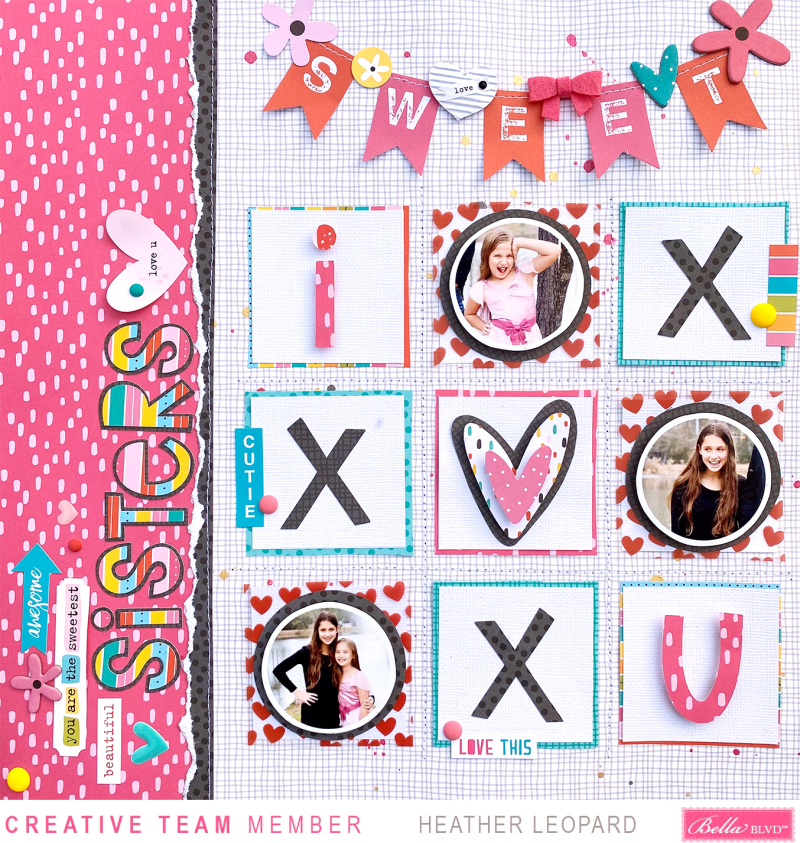 Sweet Sisters Heather Leopard Bella Blvd 1