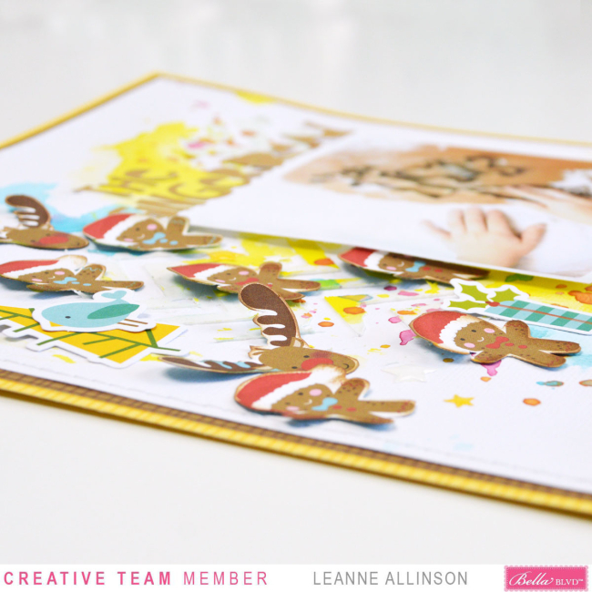 Bella Blvd_Leanne Allinson_Mixed Media_Santa Squad_The Gingerbread_03