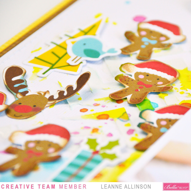 Bella Blvd_Leanne Allinson_Mixed Media_Santa Squad_The Gingerbread_05