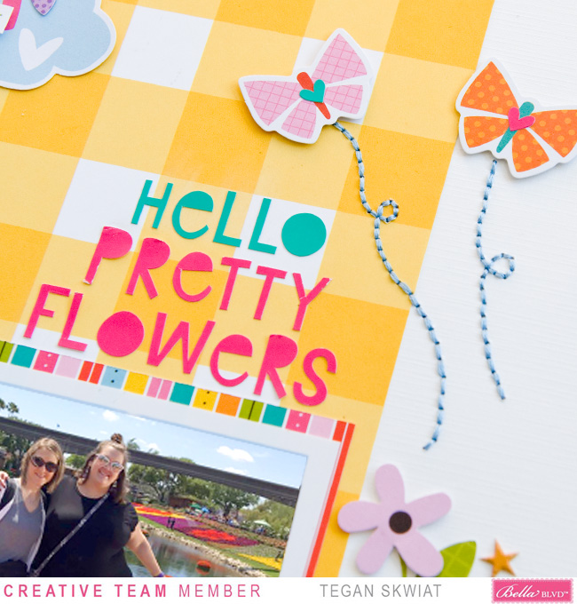 Tegan Skwiat_Hello Pretty Flowers Layout_Detail2