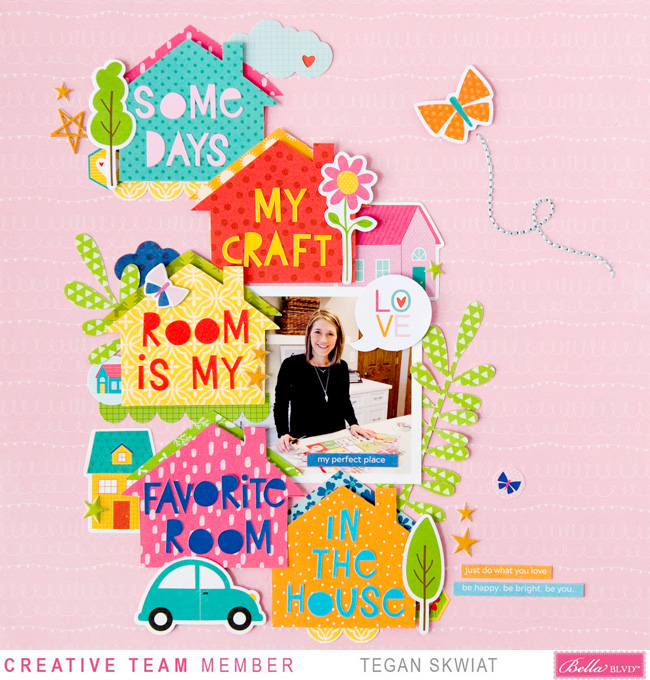 Tegan Skwiat_My Craft Room Layout
