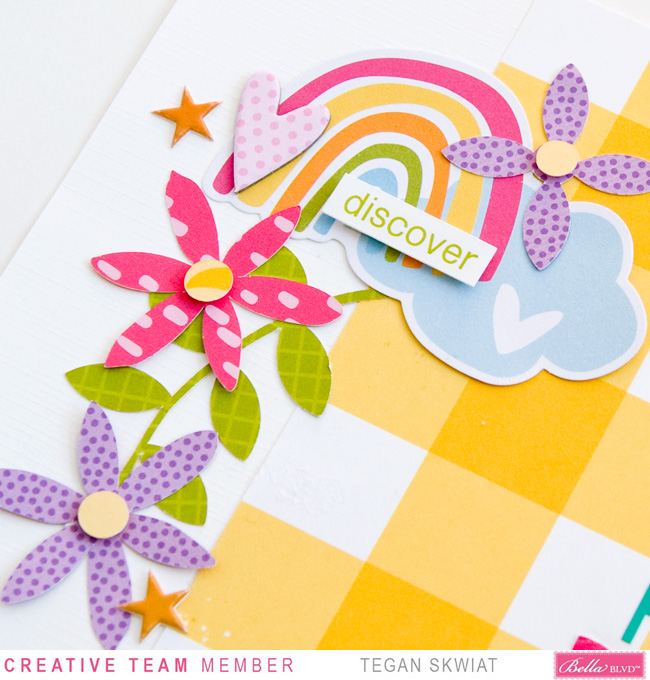 Tegan Skwiat_Hello Pretty Flowers Layout_Detail1