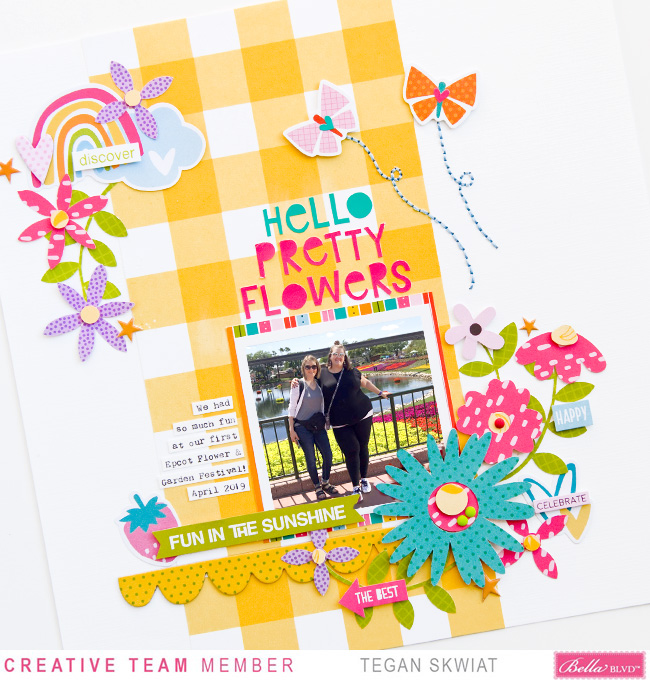Tegan Skwiat_Hello Pretty Flowers Layout_Detail4