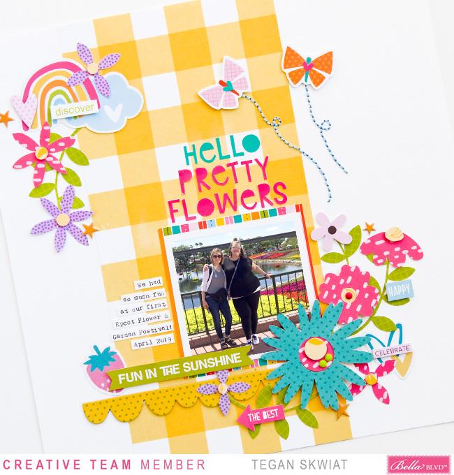 Tegan Skwiat_Hello Pretty Flowers Layout_Detail4