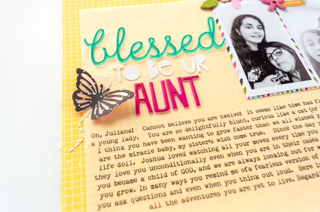 Nathalie DeSousa_ BLESSED TO BE UR AUNT_ detail-5