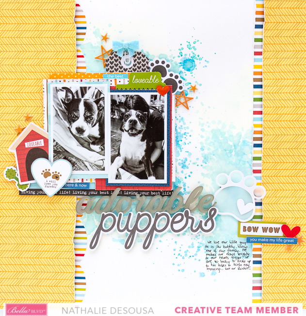 Nathalie DeSousa_ADORABLE PUPPERS_Bella Blvd._may'20-1