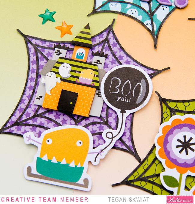Tegan Skwiat_Monsters & Friends layout3