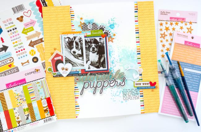 Nathalie DeSousa_ADORABLE PUPPERS_detail