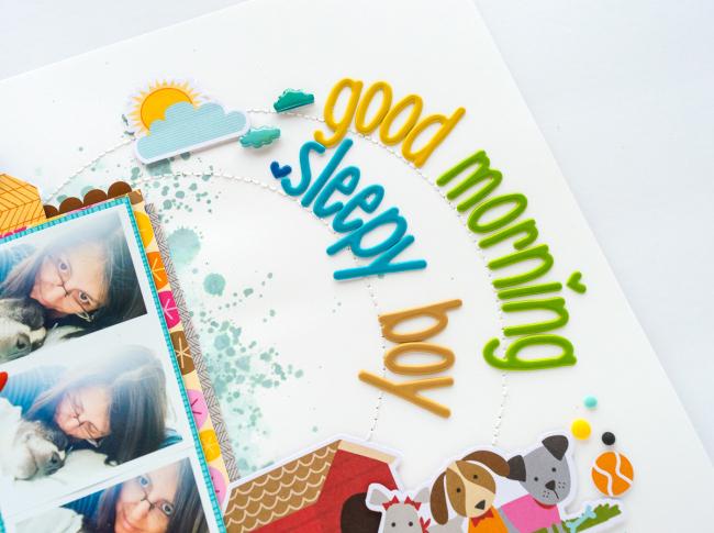 Nathalie DeSousa- GOOD MORNING SLEEPY BOY_Bella Blvd_details-5