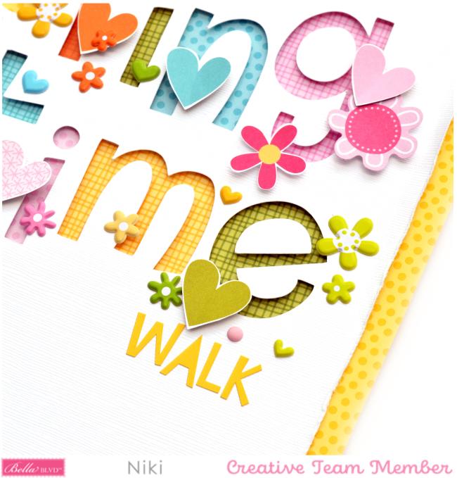 Niki Rowland Spring time walk Detail 3 Bella Blvd Trinkets Besties Chloe
