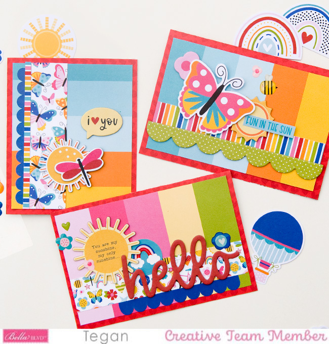 Tegan_You Are My Sunshine_Cards1