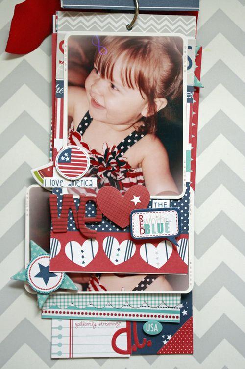 Jen Chesnick- All American Girl- Patriotic Mini-4
