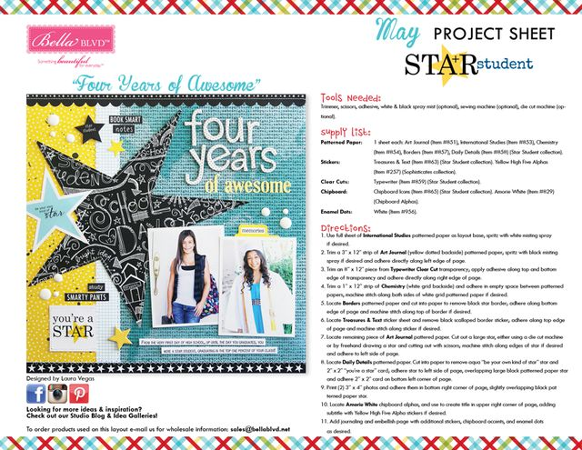 Star Student Project Sheet 2015