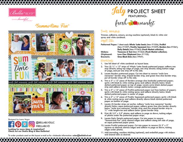 Fresh Market Project Sheet 2016